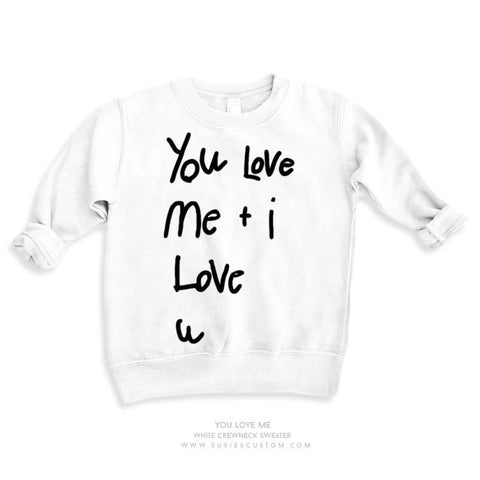 Wholesale - Kid Sweater - You Love Me