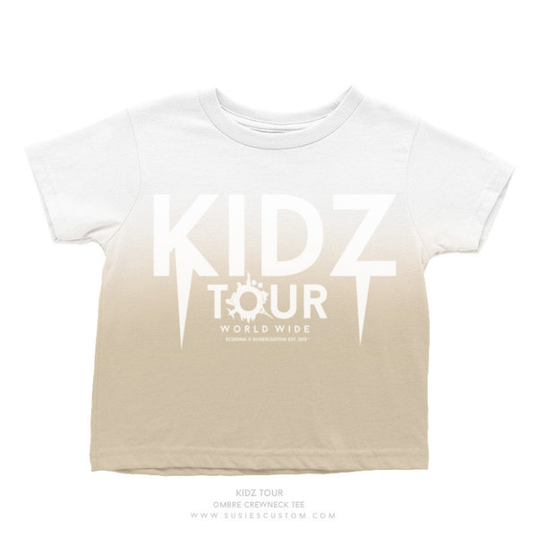 Wholesale - Kid Tee - Kidz Tour Ombré