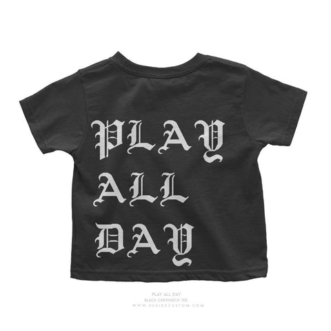 Wholesale - Kid Tee - Play All Day