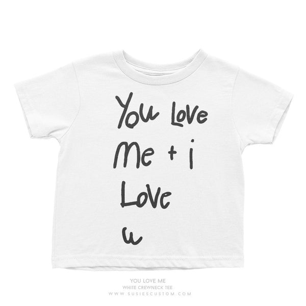 Wholesale - Kid Tee - You Love Me