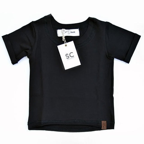 Raw Cut Tee - Black , Wholesale Tees - Wholesale Tees,