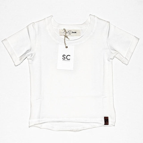 Raw Cut Tee - White , Wholesale Tees - Wholesale Tees,