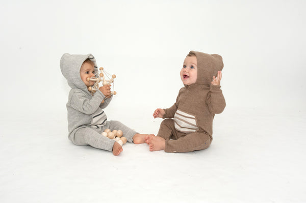Hooded Jumpsuit (gray)