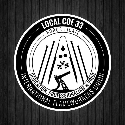 Local COE 33 Sticker