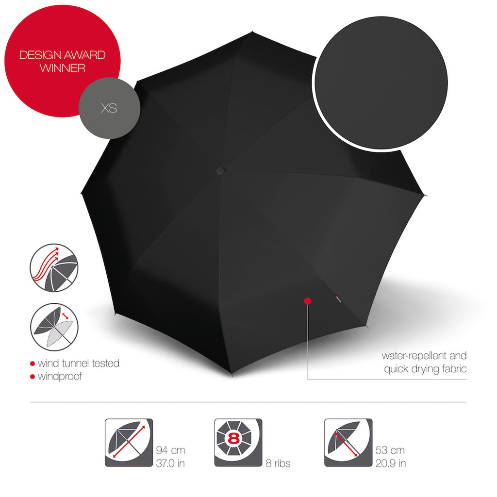 The Knirps X1 - the most iconic umbrella with UV Protection