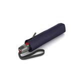 Folded Knirps® T 200 Duomatic Solids Umbrella - Navy