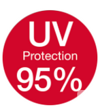 95% UV Protection
