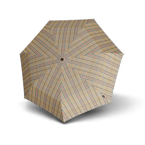 Open Knirps Piccolo Umbrella - Check