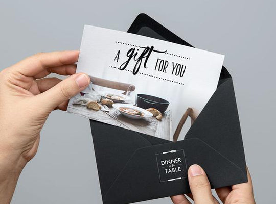 Dinner on the Table gift card