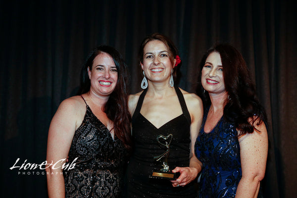 Image of Rachel with Peace Mitchell & Katy Garner, AusMumpreneur founders