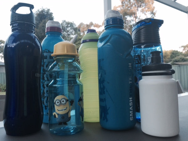 Picture of kids drink bottles