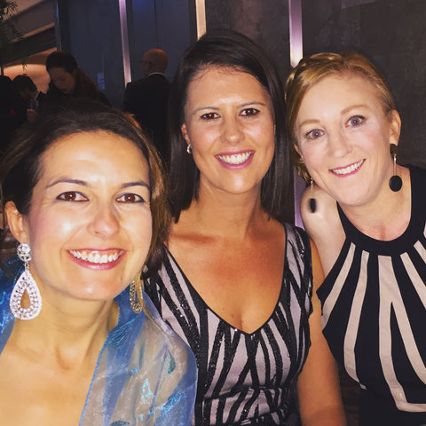 Rachel with Alison Valenti and Julie-Anne Townsend at the Diamond Women's Support Gala Ball