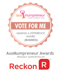 Vote for me button AusMumpreneur Awards