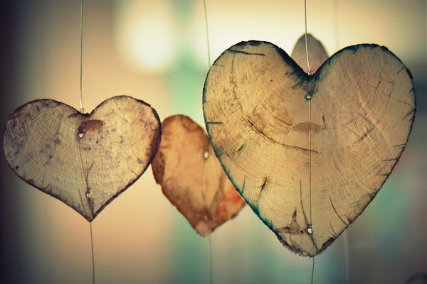 Timber hearts