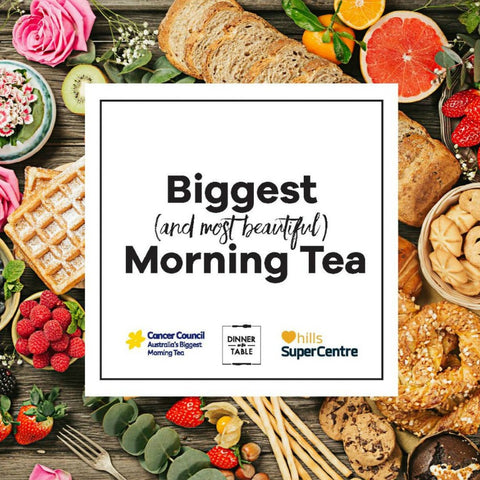 Australia's Biggest (and most beautiful!) Morning Tea - Your ticket
