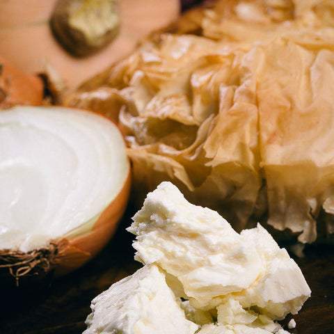 Image of onion, pumpkin and feta