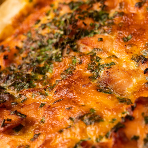 Smoked Salmon and Chive Quiche (Frozen)