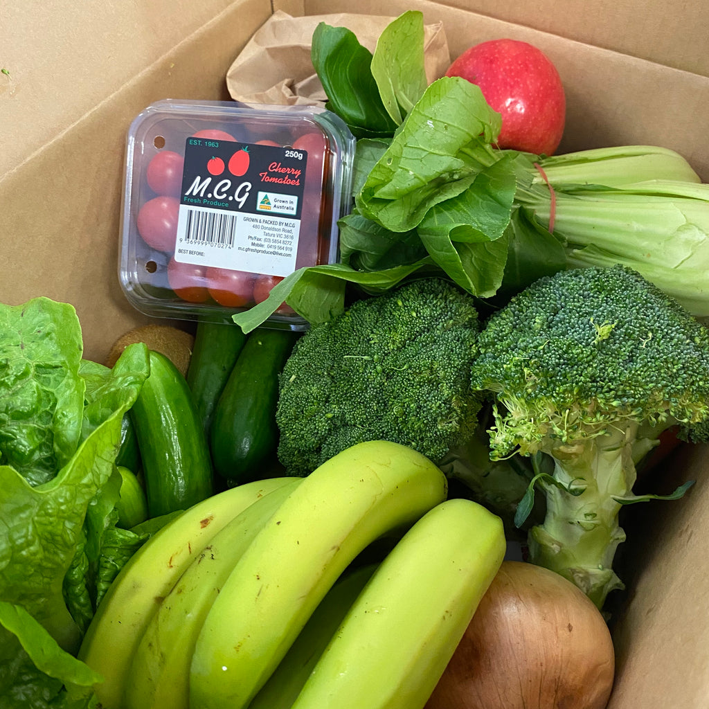 Home delivery fresh fruit & vegetable box