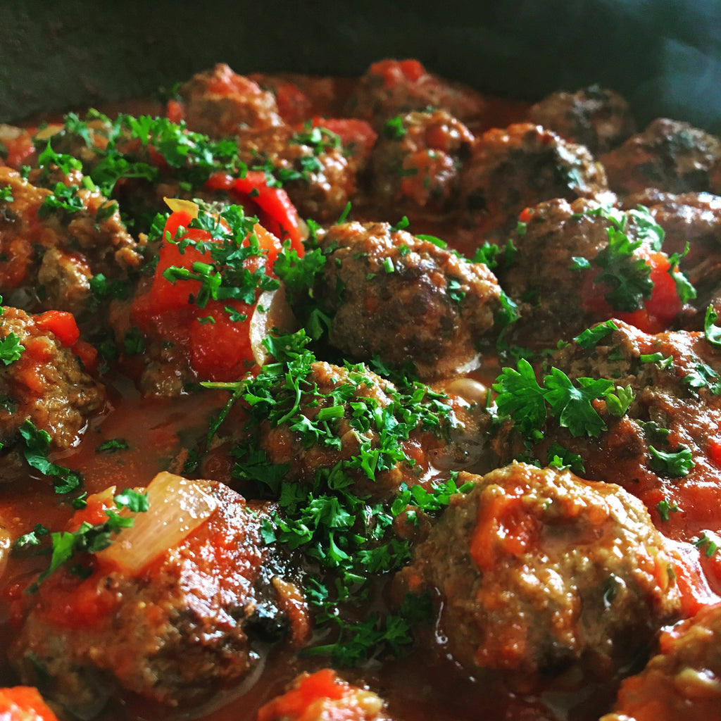 Moroccan Meatballs. Dinner on the Table family meals delivered