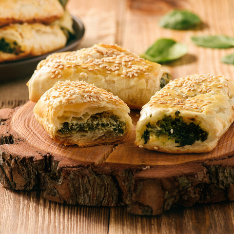 Spinach & Cheese Rolls (Frozen)