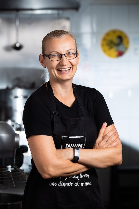 photo of Kate, chef of Dinner on the Table, one of the fast growing catering companies in Sydney