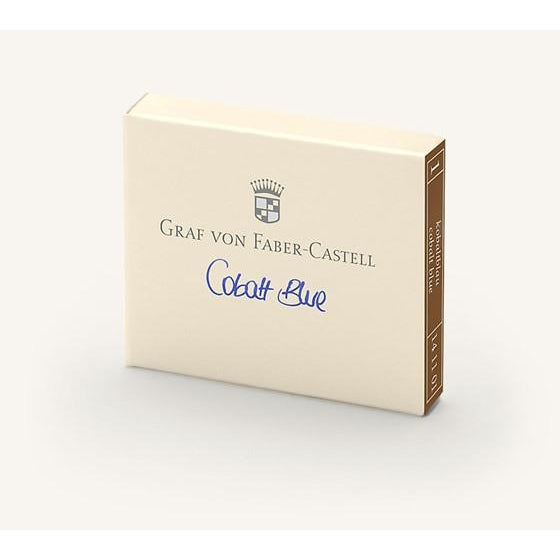 Graf Von Faber-Castell Ink Cartridge Cobalt Blue