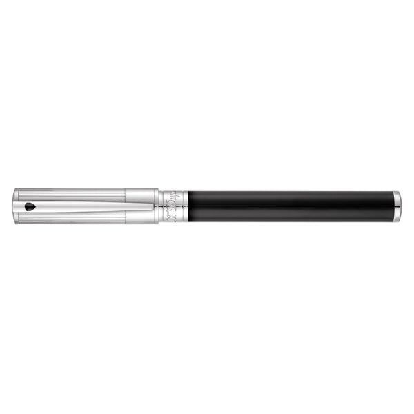 S.T. Dupont D-Initial Duo Black and Chrome Rollerball