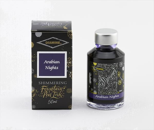 Diamine Shimmertastic Ink-Fountain Pen Ink-Diamine-Arabian Nights-Applebee