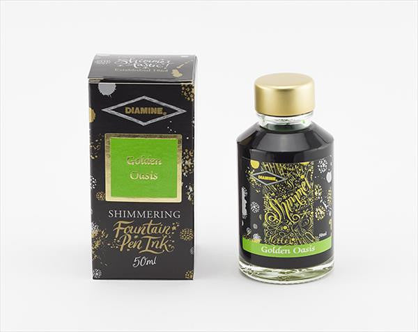 Diamine Shimmer Ink Golden Oasis