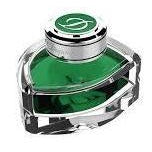 S T Dupont Ink Bottle Spring Green