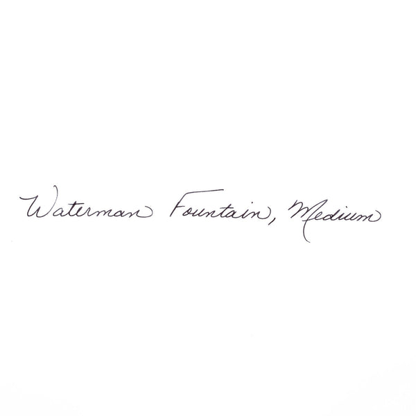 Waterman Expert 3 Fountain Pen Lacquer-Fountain Pen-Waterman-Gloss Black Chrome Trim-Applebee