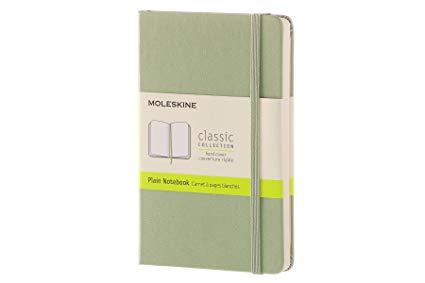 Moleskine Classic Pocket Plain Notebook-Notebook-Moleskine-Classic Willow Green