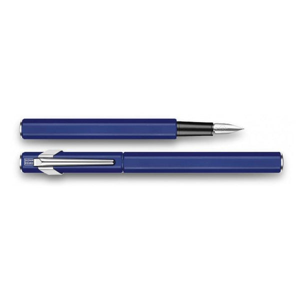 Caran d'Ache 849 Metal Fountain Pen Blue