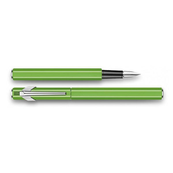 Caran d'Ache 849 Metal Fountain Pen Green