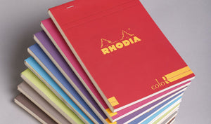 Rhodia Color Head Stapled Notepad No.18 A4