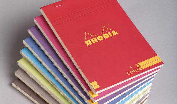 Rhodia Color Head Stapled Notepad No.18 A4-NotePad-Rhodia-Violet-purple-Applebee