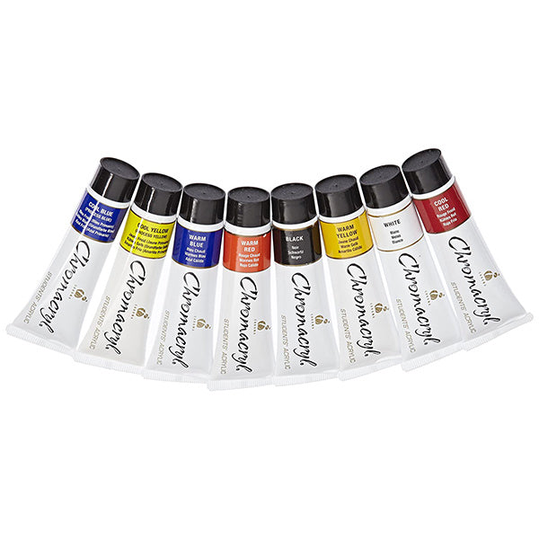 Chromocryl Tubes of Paint 75ml