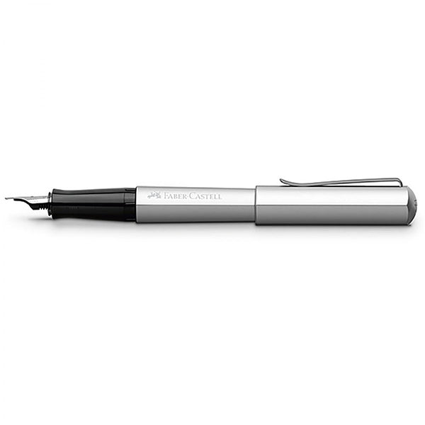 Faber-Castell Hexo Fountain Pen Silver Medium