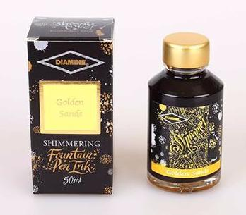 Diamine Shimmering Ink Golden Sands