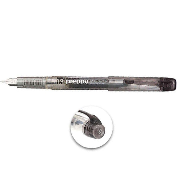 Platinum Preppy 0,3mm F Fountain Pen Black