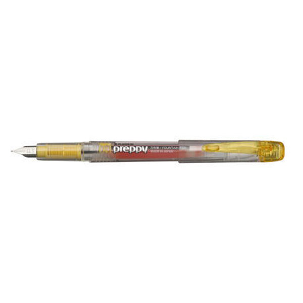 Platinum Preppy 0,3mm F Fountain Pen Yellow