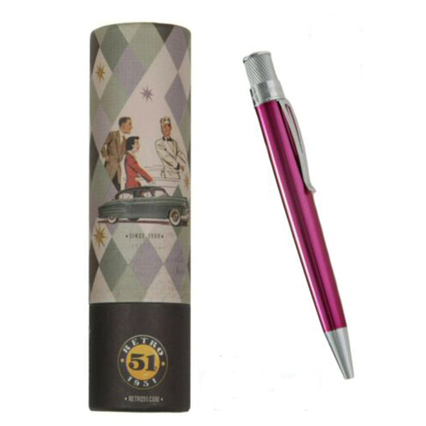 Retro 51 Pink Rollerball with Tube