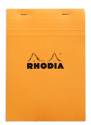 Rhodia A4 Orange Cover Plain
