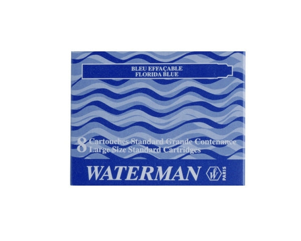 Waterman Blue Fountain Pen Ink Cartridge