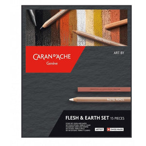 Caran d'Ache 776.615 Flesh & Earth Set