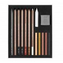 Caran d'Ache 776.615 Flesh & Earth Set Contents
