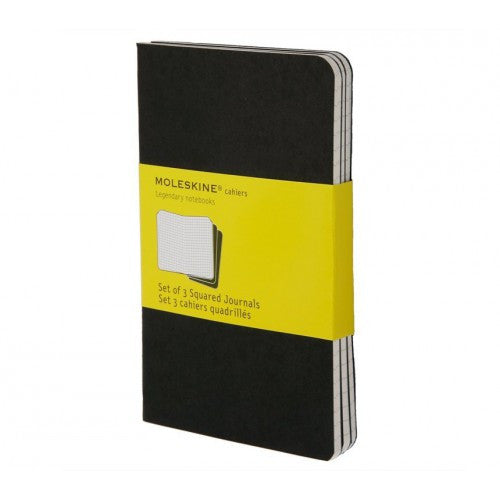 Moleskine Cahier Large Squared Notebook-Notebook-Moleskine-Cahier Black Large Squared-Applebee