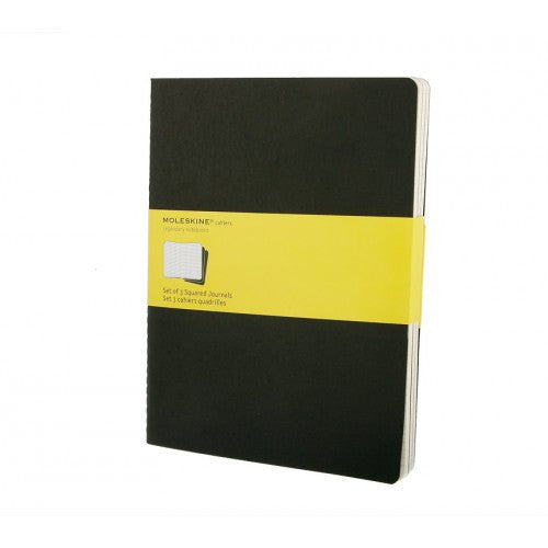 Moleskine Cahier XLarge Squared Notebook-Notebook-Moleskine-Cahier Black XLarge Squared-Applebee