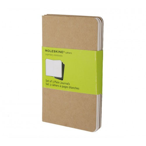 Moleskine Cahier Pocket Plain Notebook-Notebook-Moleskine-Cahier Kraft Pocket Plain-Applebee