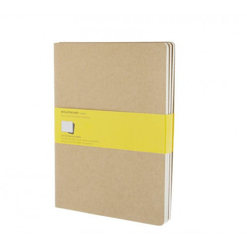 Moleskine Cahier XLarge Squared Notebook-Notebook-Moleskine-Cahier Kraft XLarge Squared-Applebee